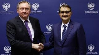 Bakan Dönmez, Rusya Enerji Bakanı Şulginov ile görüştü