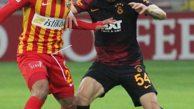 Galatasaray ile Kayserispor 51. randevuda