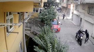 İstanbul'da kuryeye bıçaklı gasp