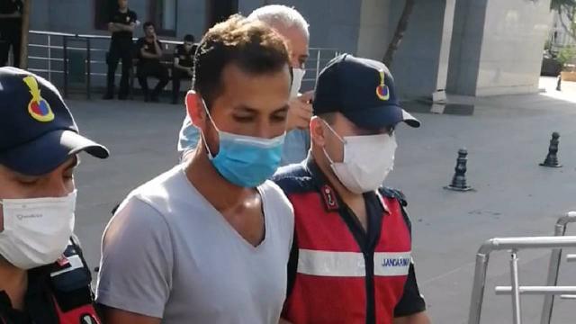Manavgatta ormanı yakarken yakalanan zanlı tutuklandı