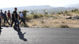 Iğdır köy yollarında iyileştirme çalışmaları devam ediyor