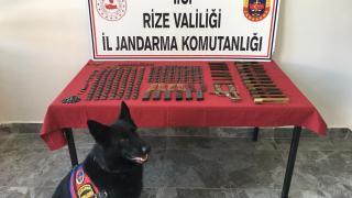 Rize'de kaçak silah atölyesine baskında 1 kişi gözaltına alındı