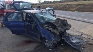 Kütahya'da trafik kazası: 2 ölü, 2 yaralı