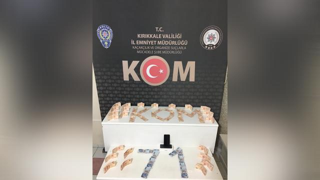 Kırıkkale'de 21 bin 650 liralık sahte banknot ele geçirildi