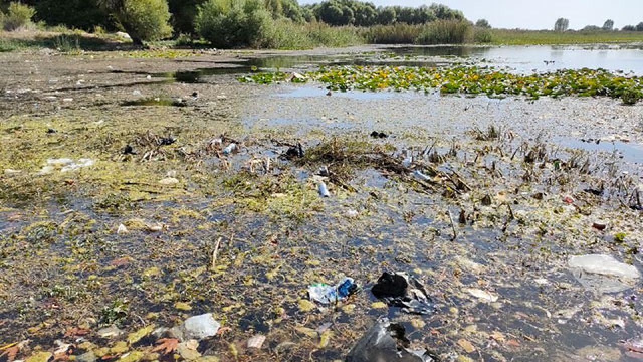 Antalya'nın içme suyu kaynağı çöplüğe döndü