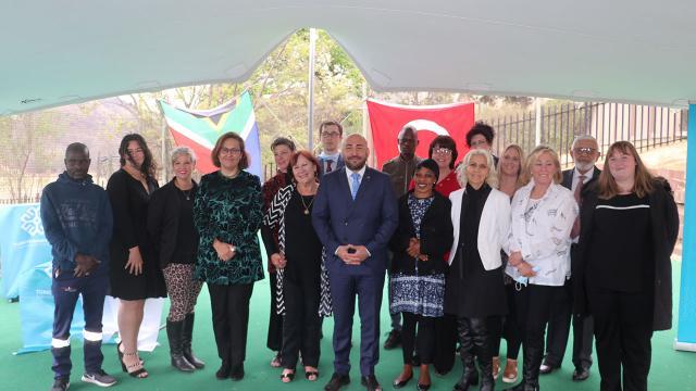 Maarif Vakfının Güney Afrikadaki ilk okulu açıldı