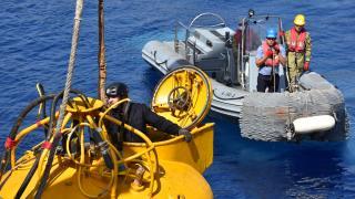 Kurtaran 2021 Denizaltı Arama Kurtarma Tatbikatı Marmaris'te sürüyor