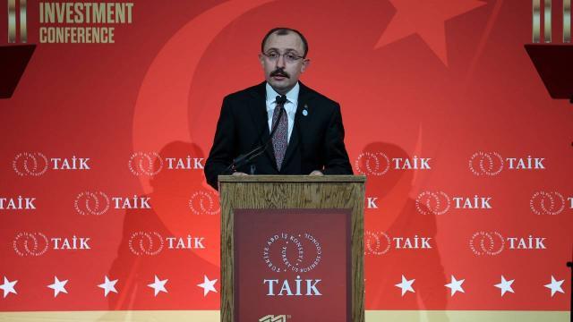 """""""Türkiyenin uzun vadeli vizyonu üretim ve ticaret üssü konumunu pekiştirmektir"""""""
