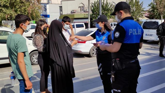 Cizrede polis ekipleri KADESi tanıttı