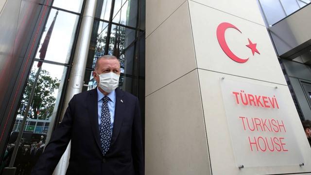 Cumhurbaşkanı Erdoğan: Türkevi binamızın kapıları herkese açıktır
