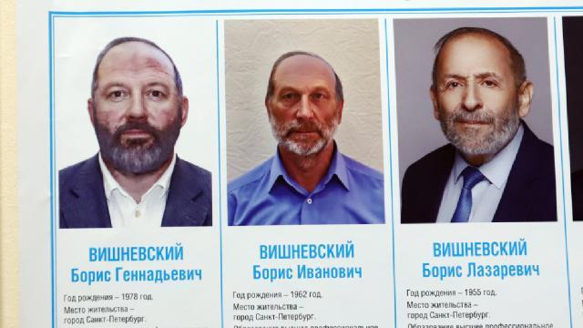 Rusyada seçim: 3 adayın adı, soyadı ve dış görünüşleri aynı