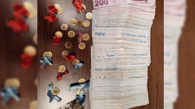 İstanbulda kuyumcuya sahte altın satmaya çalışan 5 kişi yakalandı