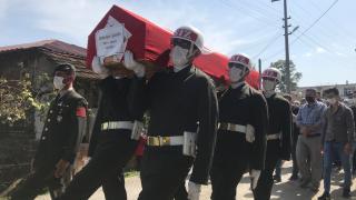 Sakarya'da Gaziler Günü'nde vefat eden Kıbrıs gazisi toprağa verildi