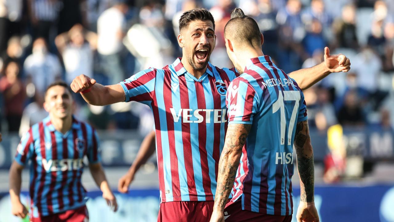 Bakasetas attı Trabzonspor kazandı - Son Dakika Haberleri