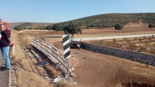 Mazıdağı'nda trafik kazası: 1 yaralı