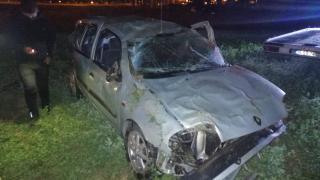Isparta'da şarampole devrilen otomobildeki 1 kişi öldü, 2 kişi yaralandı
