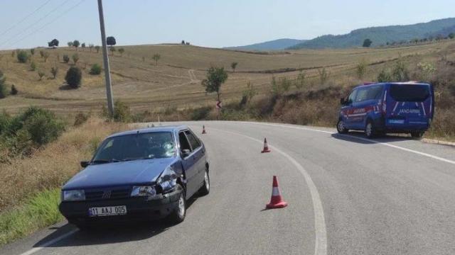 Bilecikte trafik kazası; 1 yaralı