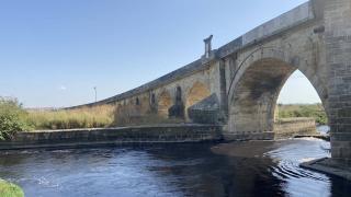 Tarihi Uzunköprü restorasyon nedeniyle trafiğe kapatıldı