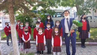İhsaniye'de İlköğretim Haftası kutlandı
