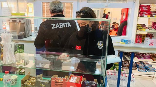 Seydişehir'de zabıta ekipleri kantin denetimi yaptı
