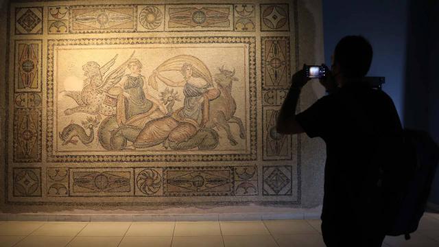 Zeugma Mozaik Müzesi'ni 125 bin ziyaretçi gezdi