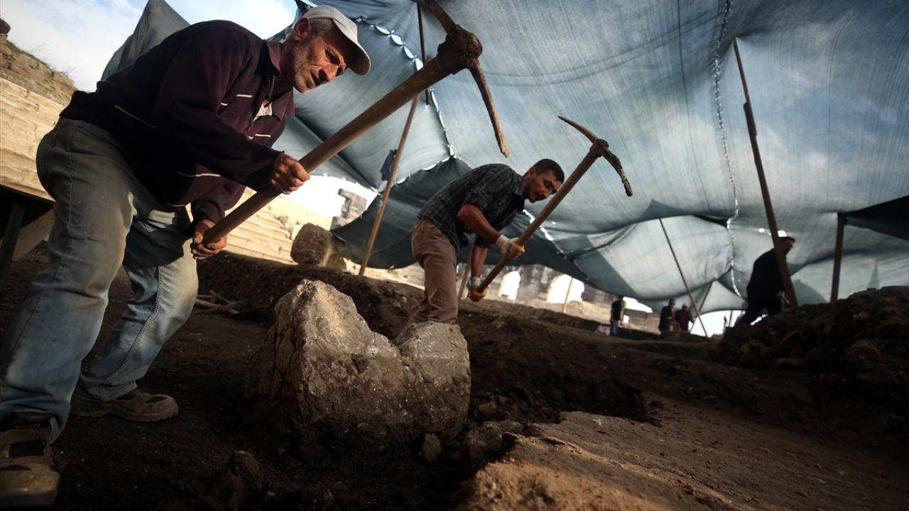 Türkiye`nin en hızlı devam eden kazı sahası