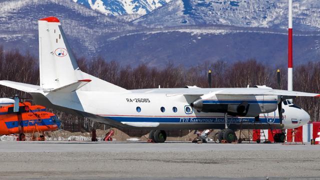 Rusyada düşen uçaktan kurtulan olmadı