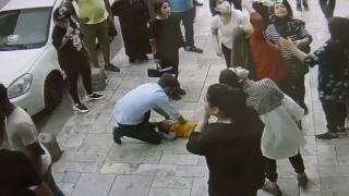 Balkondan düşen çocuk kalp masajıyla hayata tutundu