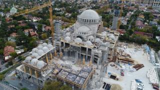 Barbaros Hayrettin Paşa Camii inşaatının yüzde 95'i tamamlandı