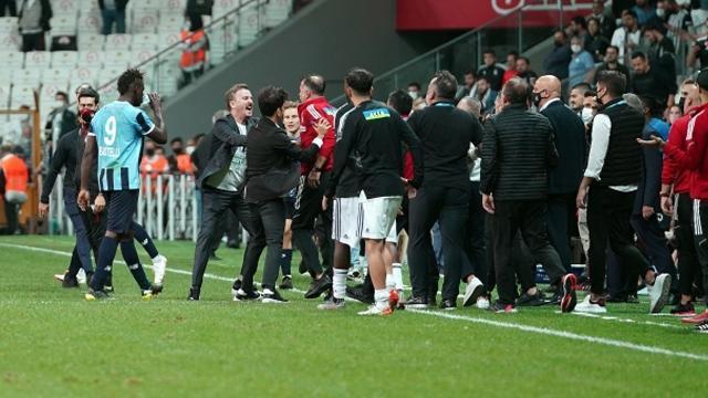 Beşiktaş ve Adana Demirspor PFDKya sevk edildi