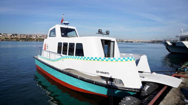 İstanbulda deniz taksiler göreve başlıyor