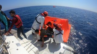 Aydın açıklarında 39 düzensiz göçmen kurtarıldı