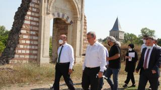 Edirne Sarayı kısa sürede gün yüzüne çıkarılacak