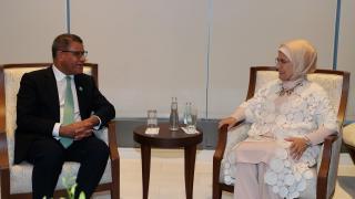 Emine Erdoğan İklim Değişikliği Taraflar Konferansı'na davet edildi