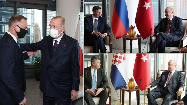 Cumhurbaşkanı Erdoğanın temasları sürüyor