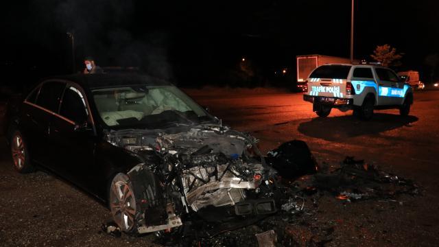 Erzincanda zincirleme trafik kazası: 3 yaralı