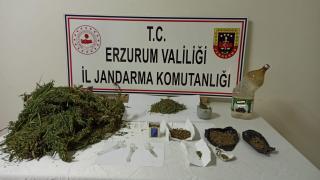 Erzurum'da uyuşturucu operasyonunda 3 zanlı yakalandı