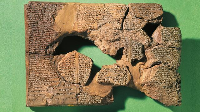 3 bin 600 yıllık Gılgamış Rüya Tableti Iraka dönüyor
