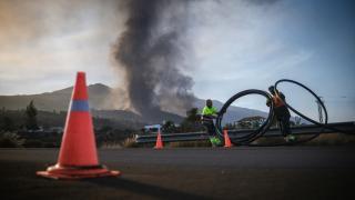 Cumbre Vieja Yanardağı'ndaki şiddetli patlamalar sürüyor