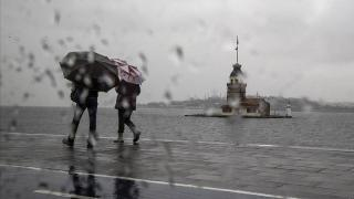 Meteoroloji'den kuvvetli yağış ve fırtına uyarısı