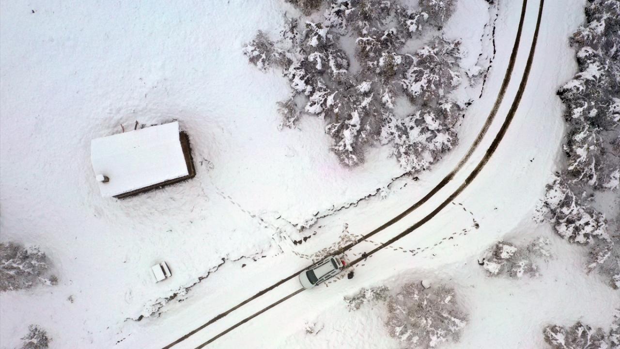 Kar erken geldi, işte yurttan kar manzaraları