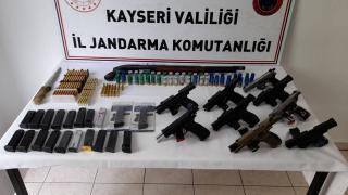 Silah ticareti yapan 9 zanlı yakalandı