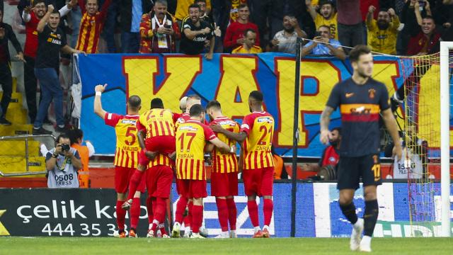 Galatasaray'a Kayseri'de soğuk duş