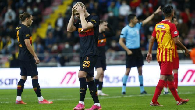 Galatasaraydan son 32 sezonun en kötü lig başlangıcı