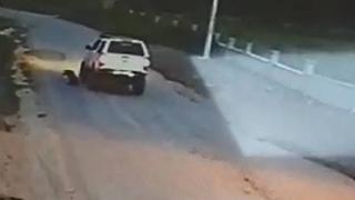 Köpeği ezen sürücü arkasına bakmadan kaçtı