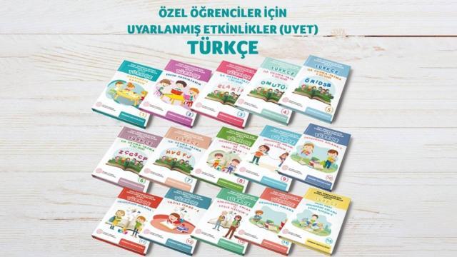 MEBden özel öğrenciler için Türkçe seti