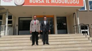 Meteoroloji Genel Müdürü Coşkun, Bursa'da ziyaretlerde bulundu
