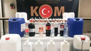 Eskişehir'de 40 litre sahte içki ele geçirildi