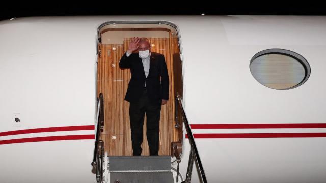 TBMM Başkanı Şentop yurda dönmek üzere İspanyadan ayrıldı