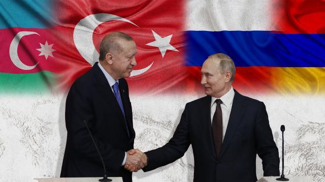 Türkiyeden Rusya ile Kafkasya hamlesi
